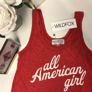 Wildfox All American Girl Tank